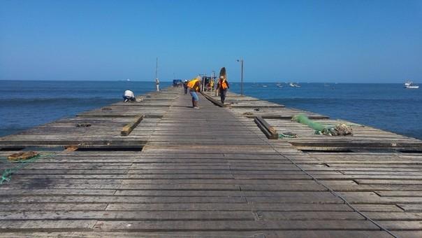 Muelle de Puerto Eten es un riesgo para las personas