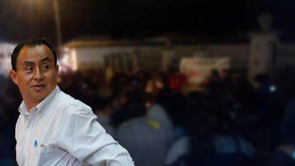 Militantes del MAS realizaron vigilia pidiendo libertad de Gregorio Santos