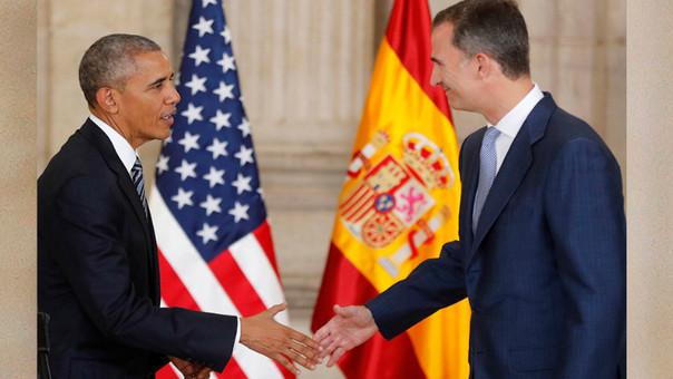 Obama conversó con el Rey Felipe VI, Mariano Rajoy y líderes opositores