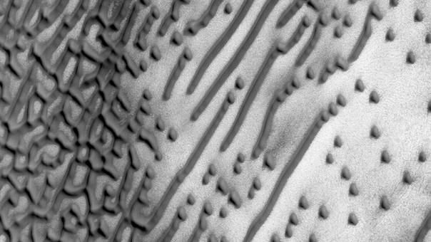 El 'Código Morse' de Marte.