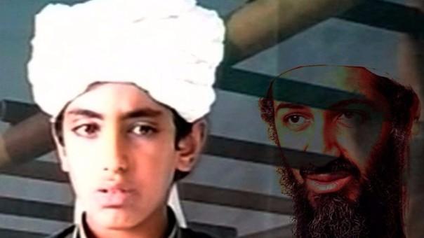 Hamza Bin Laden siguió a su padre Osama cuando era perseguido por los Estados Unidos. Se estima que actualmente tiene entre 24 y 25 años.