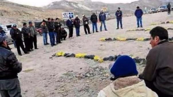 Regantes preparan medidas de lucha contra contaminación minera.