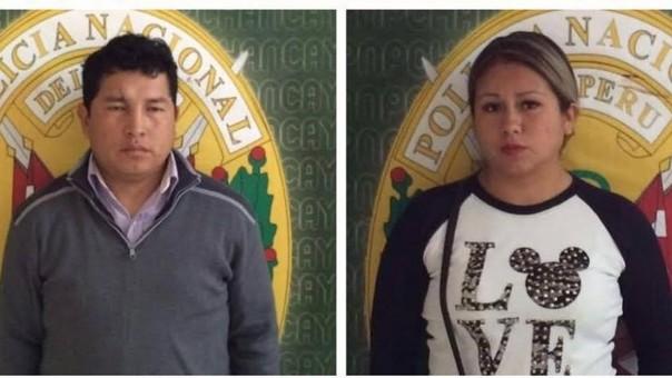 Los presuntos clonadores de tarjeta fueron trasladados a la comisaría de Chancay.