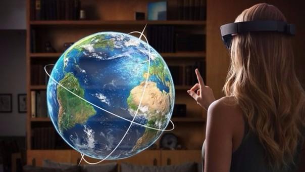 Los Hololens de Microsoft son un ejemplo de realidad aumentada.