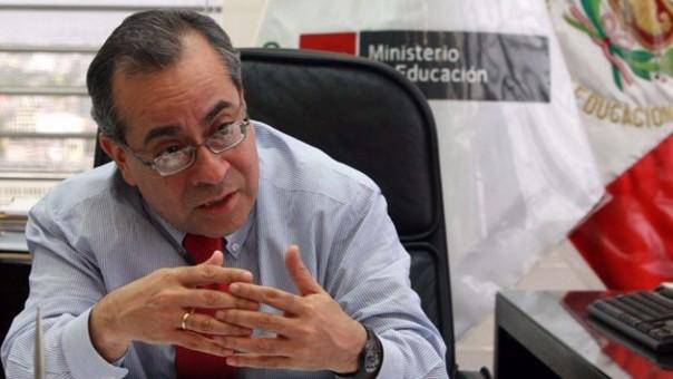 Para el legislador aprista, Jaime Saavedra no realizó ninguna reforma a favor de la educación cuando estuvo al frente del Ministerio de Educación.
