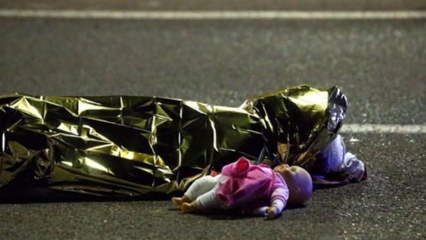 Una gran cantidad de niños está entre las víctimas de la atentado en Niza