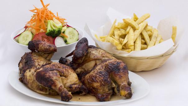 Cuantas calorias tiene el pollo asado sin piel