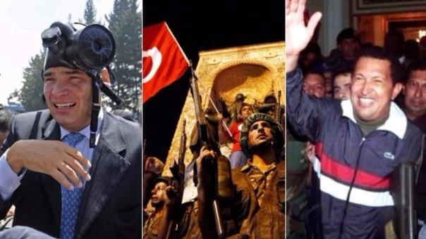 Estos son los golpes de estado que marcan la historia la historia reciente