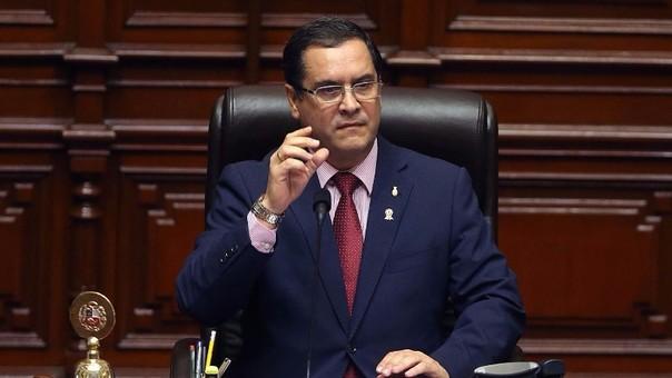 Luis Iberico es el presidente del Congreso desde el 2015. Postuló a reelección, pero no fue elegido para la nueva Legislatura.