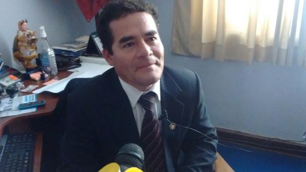 Edwin Edquen, Prefecto de Cajamarca