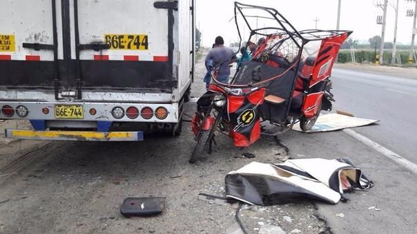 Virú: madre e hijos heridos en accidente de tránsito