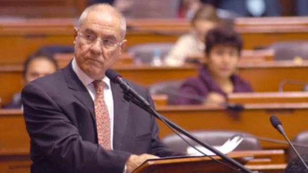 Javier Villa Stein, expresidente del Poder Judicial