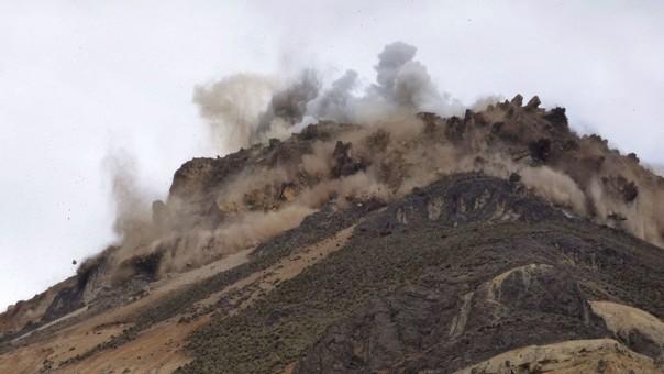 Detonaciones en Morococha