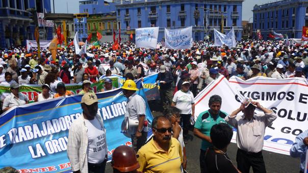 Trabjadores Doe Run Lima