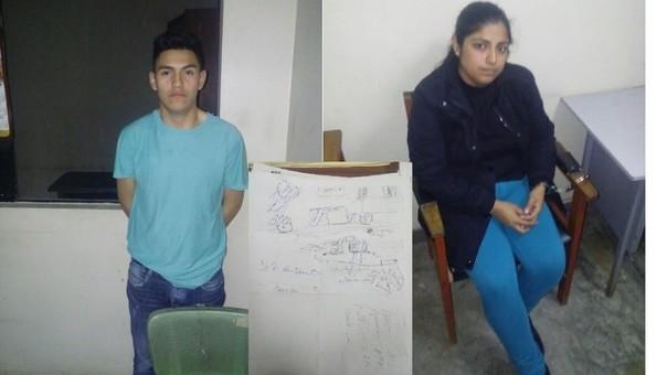 Los detenidos se encuentran en la comisaría de Huaral.