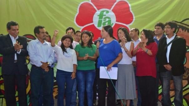 Partido Frente Amplio en contra del indulto pedido por Alberto Fujimori