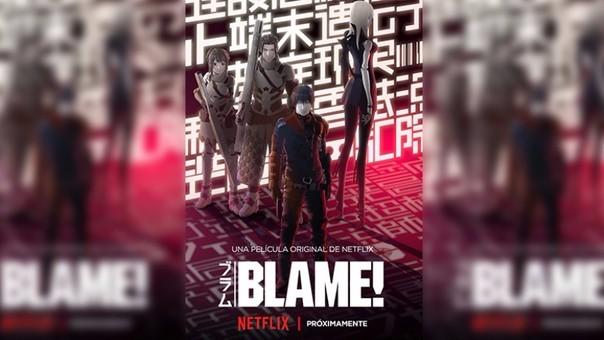 Blame! será estrenada a través de Netflix