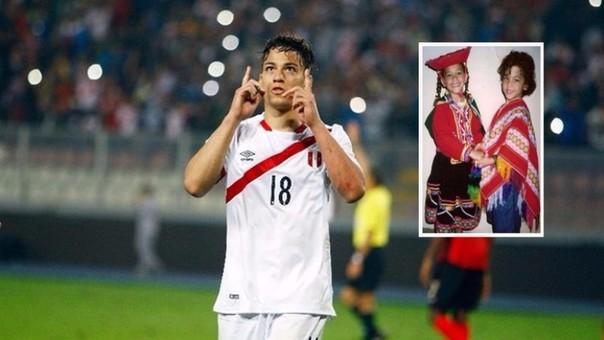 Cristian Benavente demostró que se siente orgulloso de ser peruano.