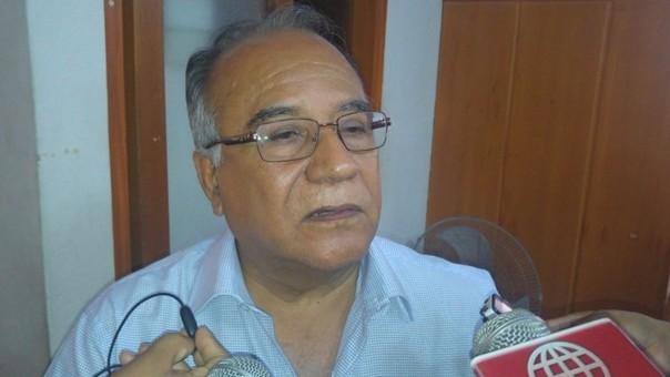 Alcalde provincial de Piura Óscar Miranda