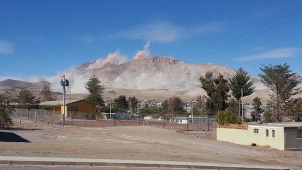 Se registraron deslizamientos en Chañaral, Copiapó.
