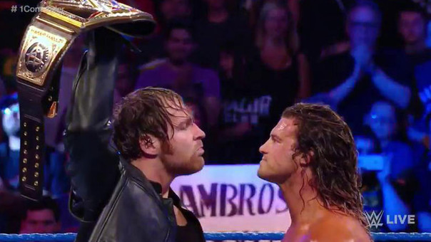 Dean Ambrose vs. Dolph Ziggler