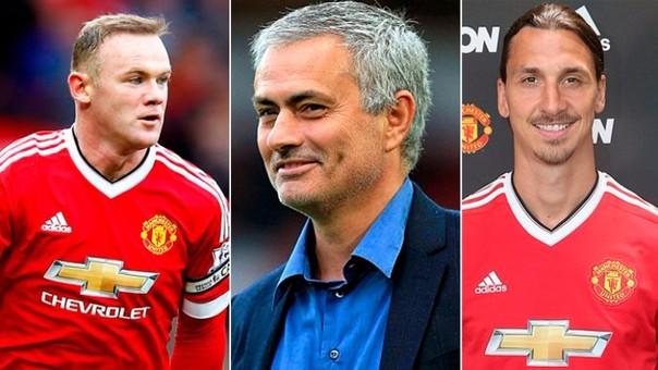 Zlatan Ibrahimovic - Wayne Rooney - José Mourinho