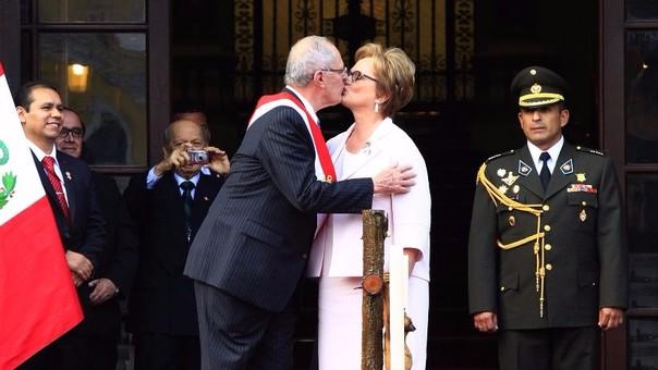 Nancy Lange y Pedro Pablo Kuczynski