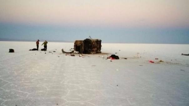 Un paseo por el salar de Uyuni (Bolvia) tuvo un trágico final para cinco turistas.