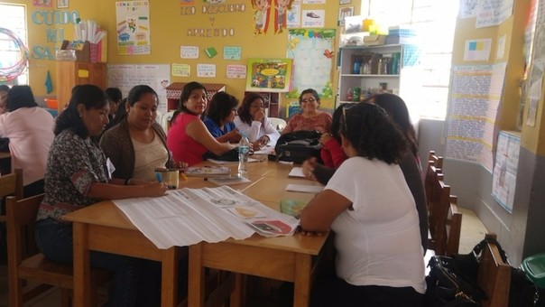 La Dirección regional de Educación inspeccionó el desarrollo de capacitaciones.