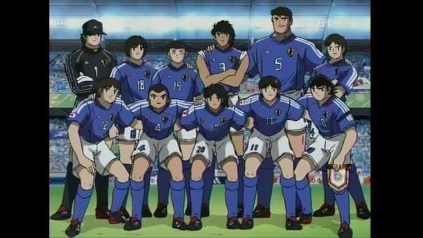 Los Supercampeones en la Selección de Japón para el Mundial del 2002.