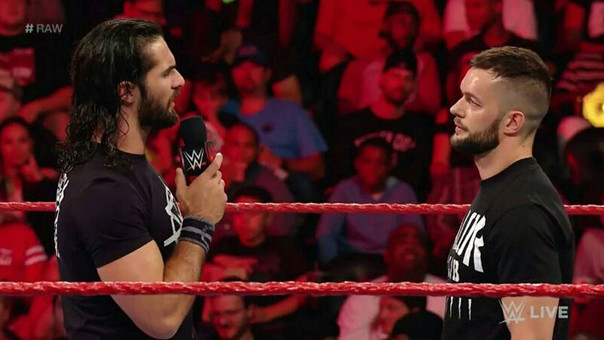 Seth Rollins y Finn Bálor