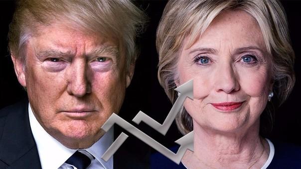 Donald Trump y Hillary Clinton se verán las caras en las elecciones de noviembre.