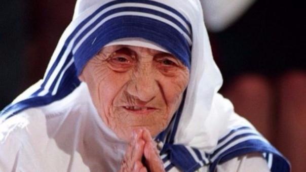 La madre Teresa de Calcuta fundó la Orden de Misioneras de la Caridad.