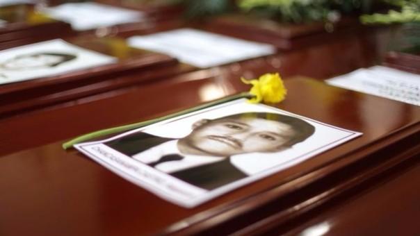 Treinta años después de la matanza, 7 familias finalmente recibieron los restos de sus seres queridos ejecutado en El Frontón.