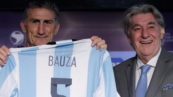 Edgardo Bauza debutará en septiembre ante Uruguay por Eliminatorias.