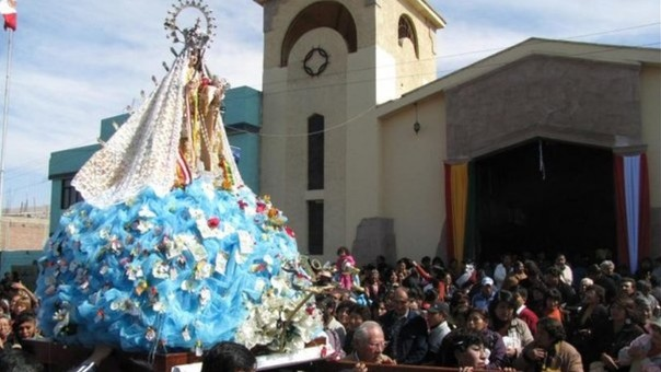 Virgen de Copacabana.