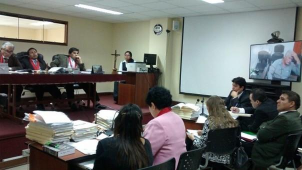 En una audiencia que duró más de 5 horas fue sentenciado Juan Carlos Quinde Riojas.