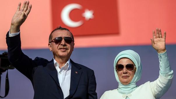 Turquía: más de un millón en mitin antigolpista convocado por Erdogan