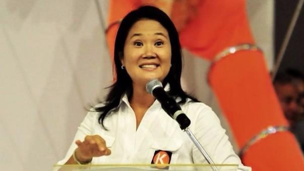 Keiko Fujimori tiene el 38% de aprobación, aproximadamente el mismo porcentaje que votó por ella en primera vuelta.