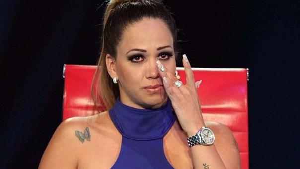 Melissa Klug le hizo una advertencia a Diego Chávarri.