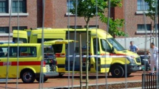 Hombre que atacó con machete a policías en Bélgica era un argelino fichado por delitos comunes