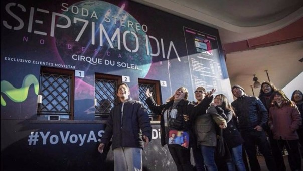 Éxito rotundo en venta de entradas para el show de Soda Stereo