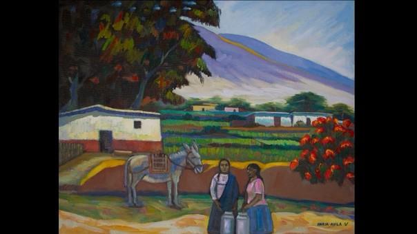 Trujillo: exhiben magníficas pinturas que inmortalizan costumbres y paisajes