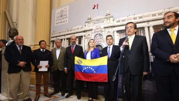 El Frente Amplio no firmó moción sobre Venezuela