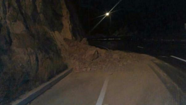 Algunos deslizamientos se produjeron tras el sismo en Quito