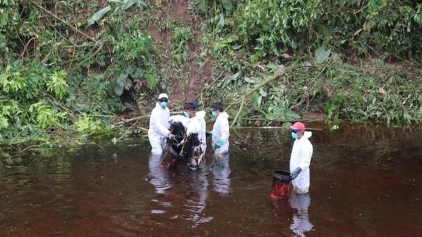 Nuevo derrame en la región Amazonas