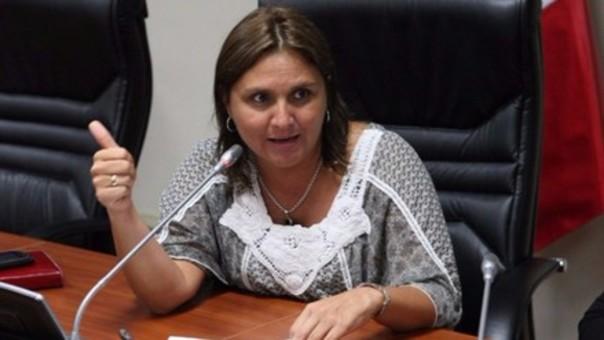 Ministra de Justicia, Marisol Pérez Tello