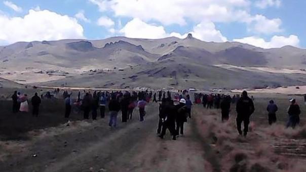 Pobladores de ambos distritos pugnan tierras en kanccora Yacango.