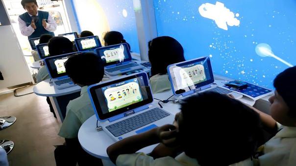 """Bus """"Educación con tecnología"""","""
