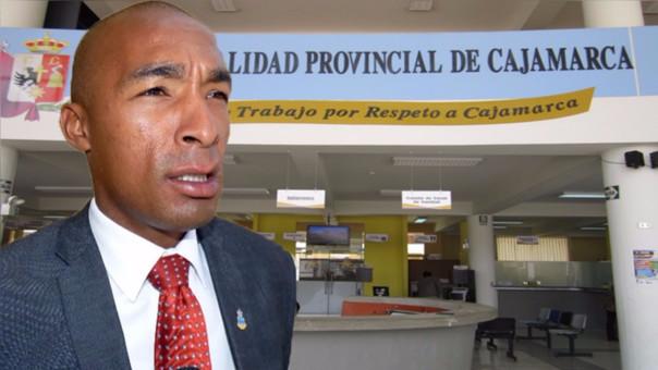 Regidor Raúl Aleman es parte del oficialismo en la comuna cajamarquina